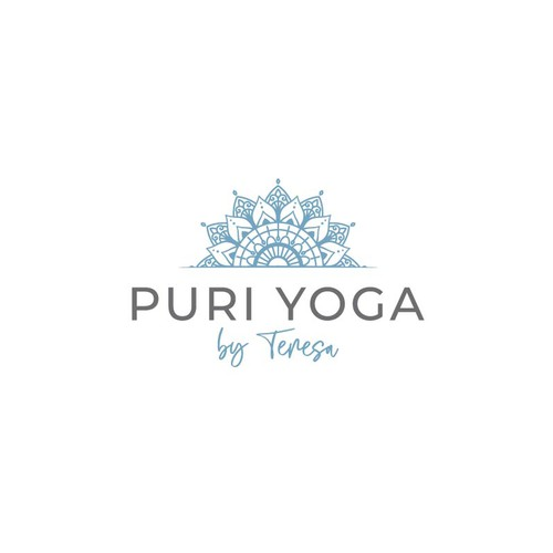 Logo for yoga teacher