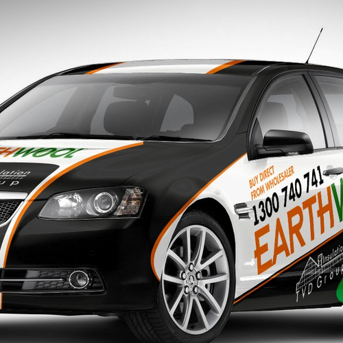 want it to look like a V8 supercar