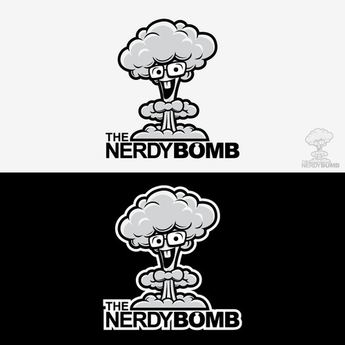 Logo for The Nerdy Bomb- An Explosion of Nerd Culture