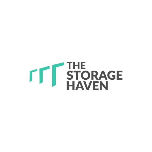 Logo for self storage company