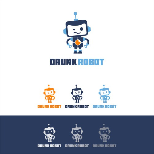 Drunk Robot! Let's Do This:)
