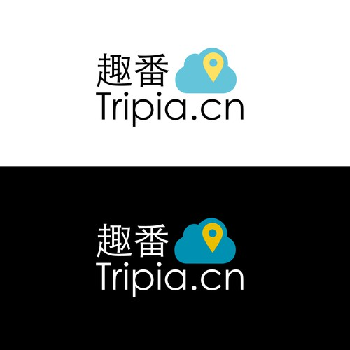 Travel start-up in China needs a serene and simple Logo