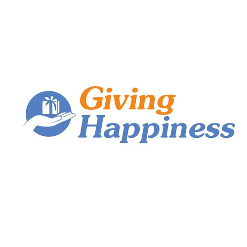 Giving Happiness needs a new logo
