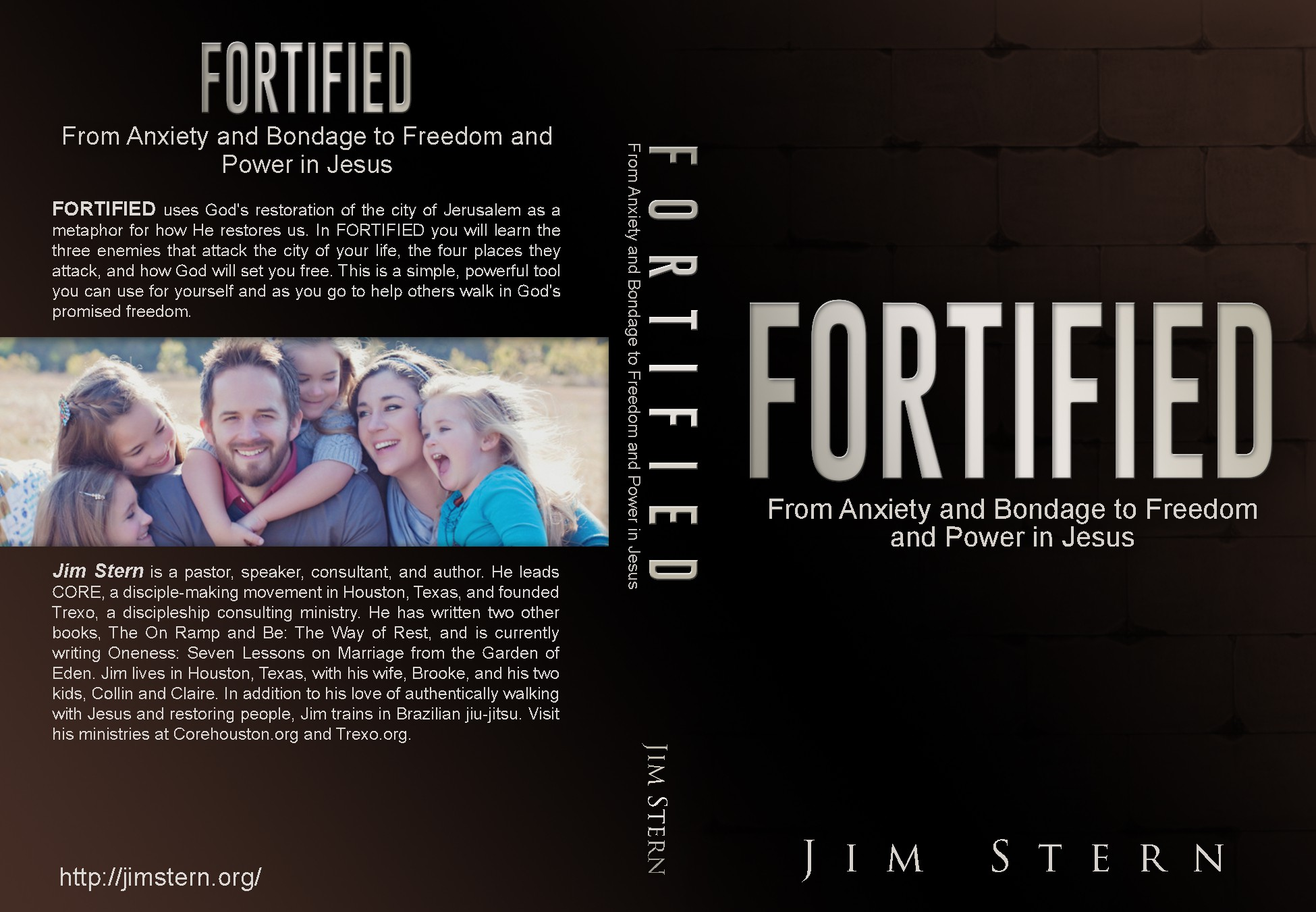 Create a strong book cover for a Christian workbook on being set free.