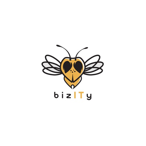 Logo design for bizITy