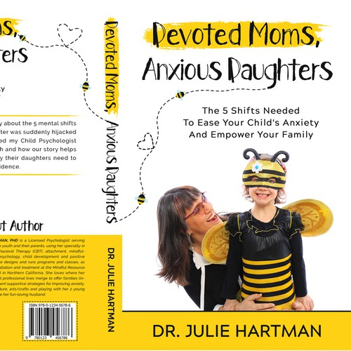 "Book Cover for ""Devoted Moms, Anxious Daughters"""