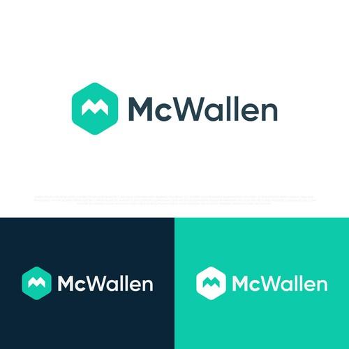 McWallen Logo design