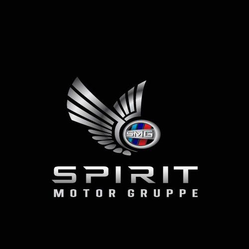 Luxurious logo for Spirit Motor Gruppe