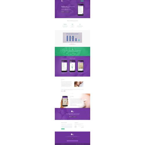 Web site for skin cancer app