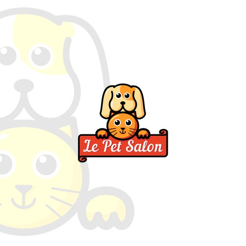 Logo for salon for pet