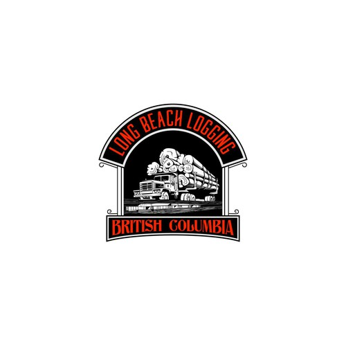 Logo design for Long Beach Logging