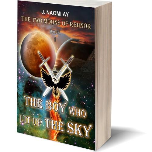 New scifi/fantasy book cover cb