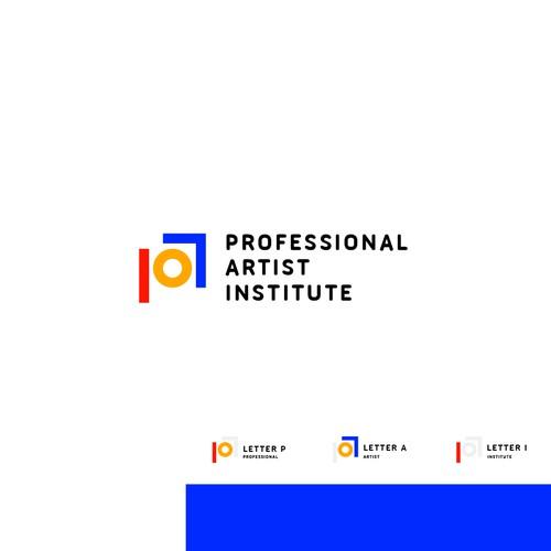 Professional artists institute logo