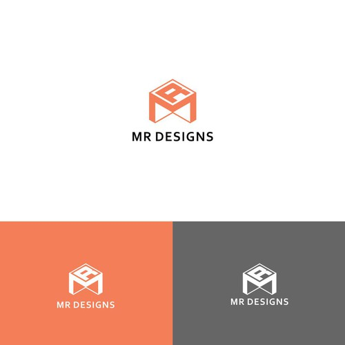 Design a minimalist style modern Logo for interior Designer
