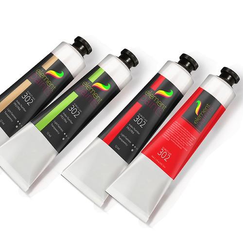 Label - Element  paints