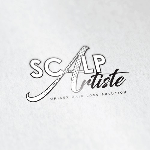 Logo concept for unisex hair loss solution