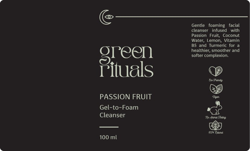 MINIMALIST/ECLECTIC/MODERN/PLAYFUL Natural Skincare Product Label Design