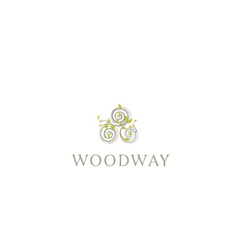 Woodway Logo design
