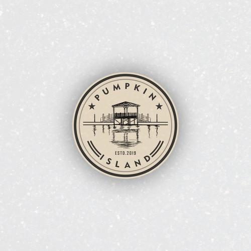 Classy logo concept for PUMPKIN ISLAND