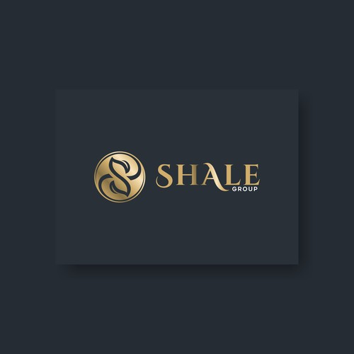 Letter S logo concept for Shale Group