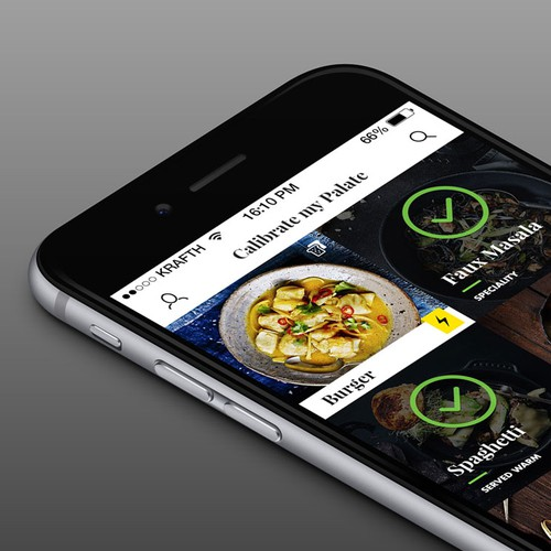Restaurant iOS UI