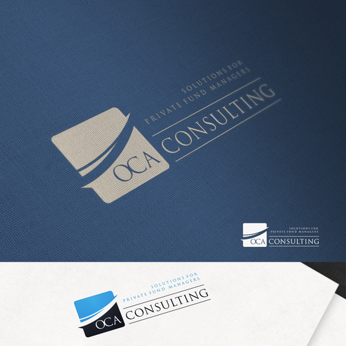 Classy Logo for a Hedge fund consulting firm