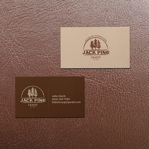 Logo and Business Card for Jack Pine