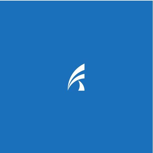 FALLS TECHNOLOGY logo concept