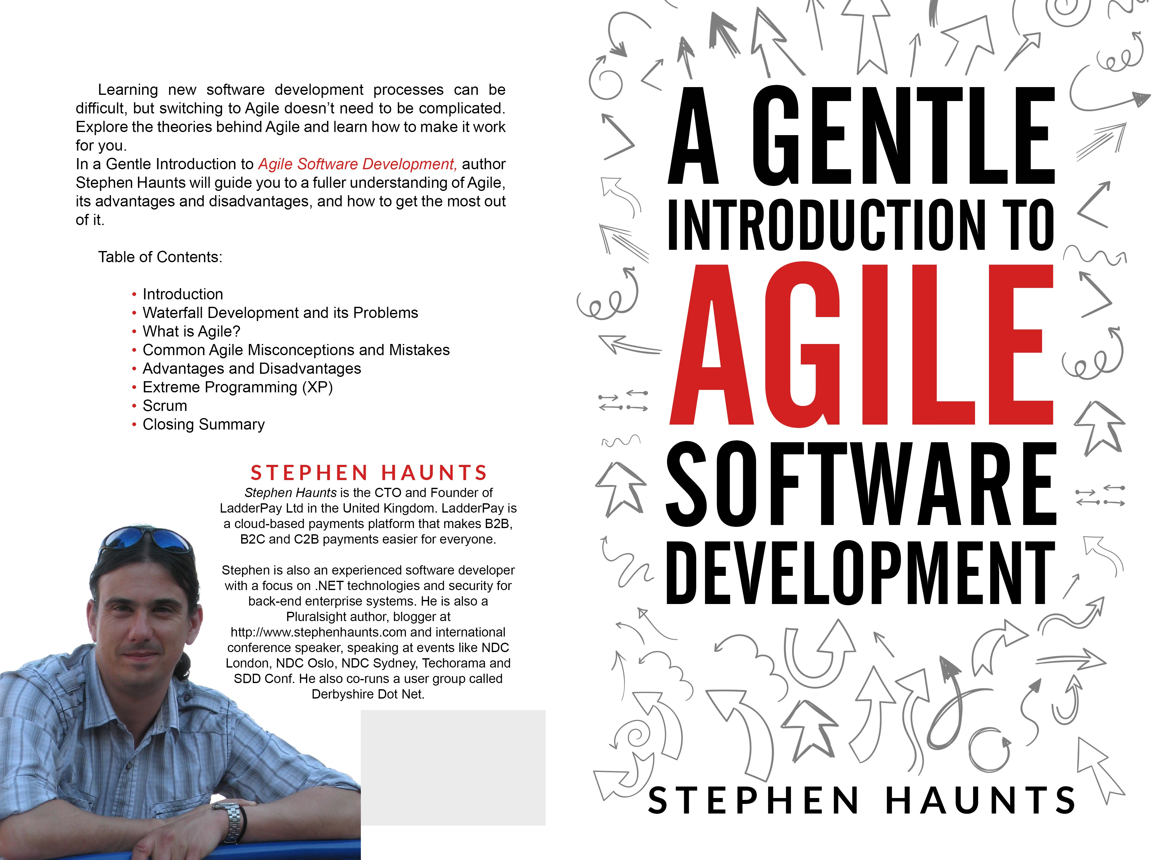 Ebook cover for a book about Agile Software Development