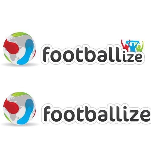 Create the next logo for footballize.com