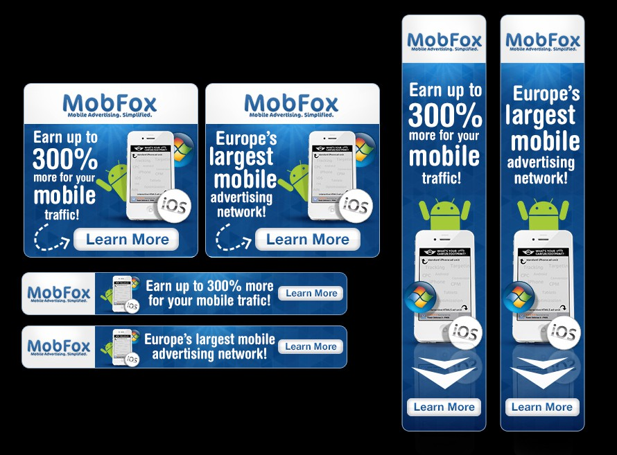 banner ad for MobFox