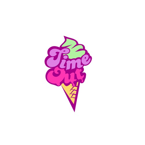 Logo for an Ice Cream Parlor