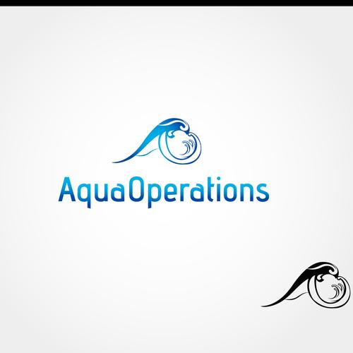 logo for Aqua Operations  -  AO