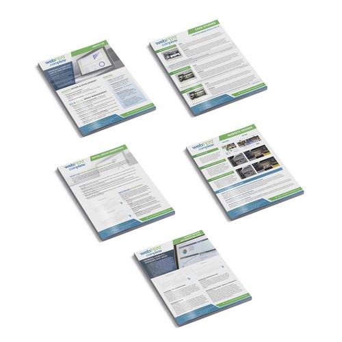 Inserts for Presentation Folder