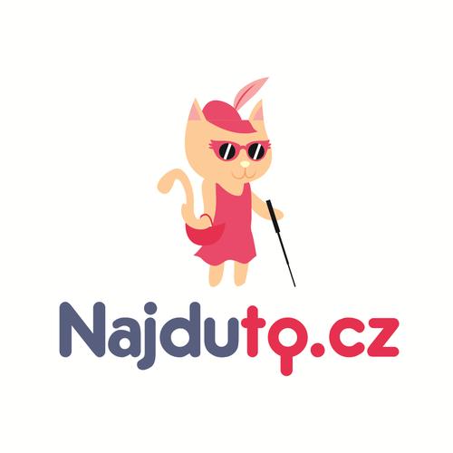 Concept logo for Najduto.cz