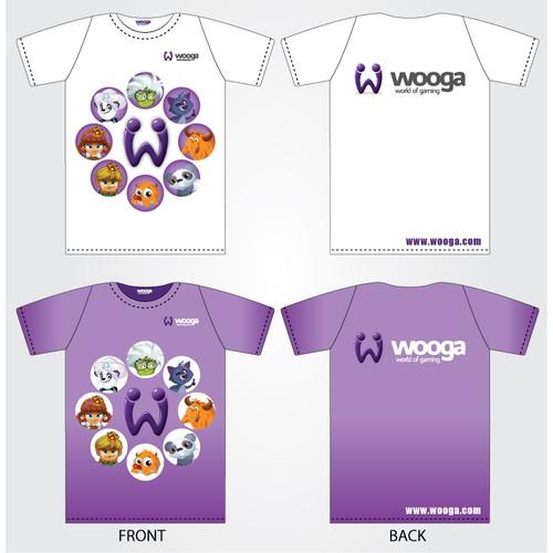Wooga needs a new t-shirt design!