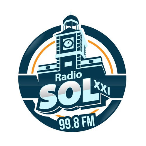 New logo of a local radio station in Madrid (Spain)