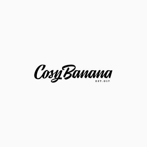 COSY BANANA LOGO DESIGN