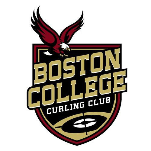 Boston College Curling Club Logo