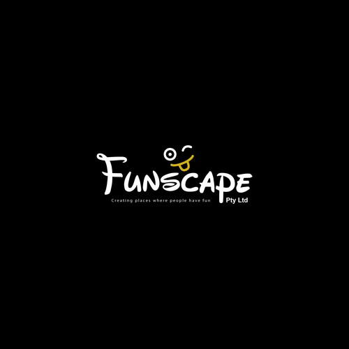 A logo for Funscape pty limited