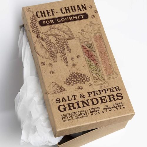 Gourmet Salt & Pepper Grinders
