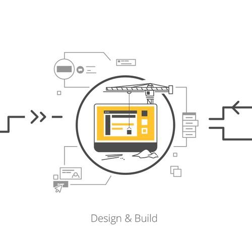 Start Up - Software Implementation Process Illustration