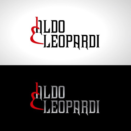 New logo for Aldo Leopardi a self title musician