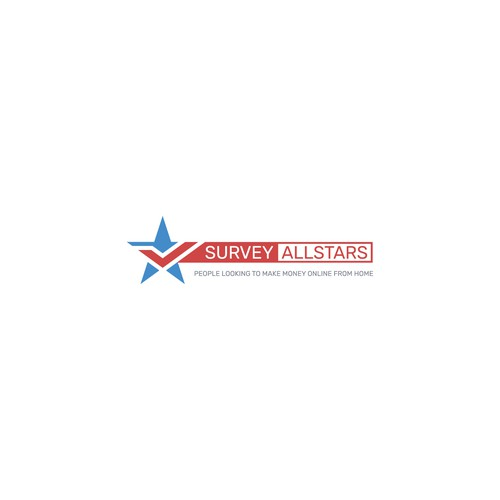 Survey AllStars logo design