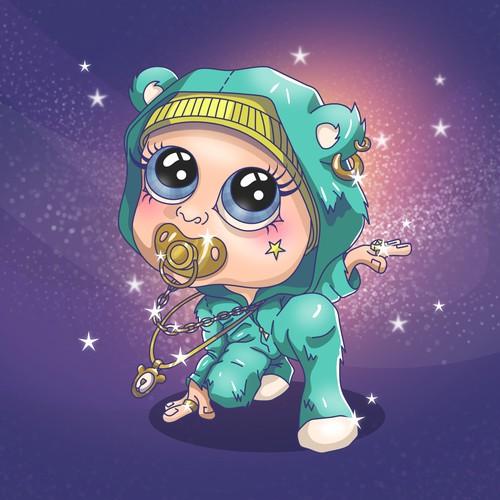 Baby Character Design