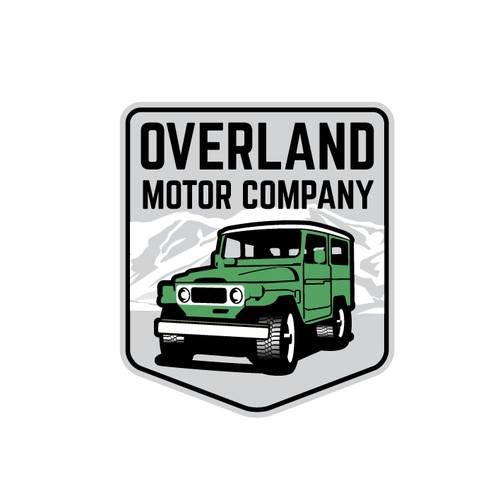 Logo for Overland Motor Company