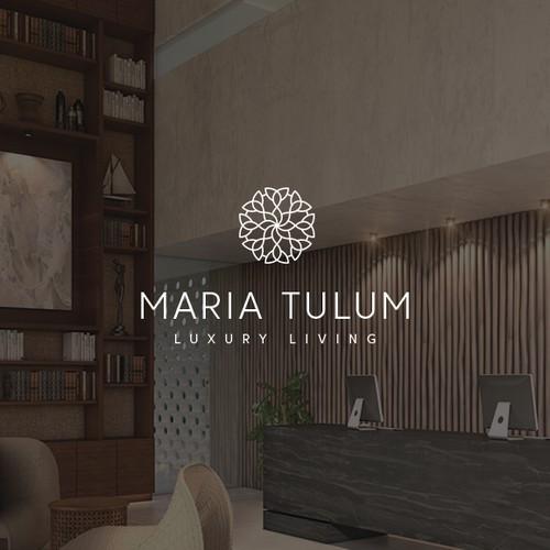 Maria Tulum Logo design