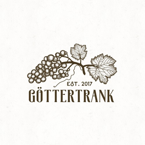Logo for online wine shop