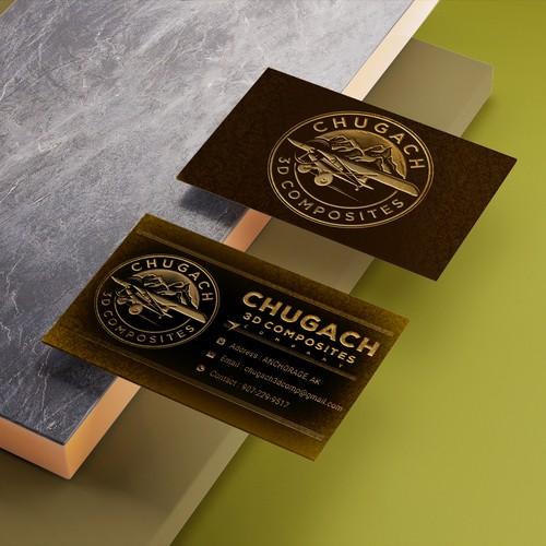 Chugach 3d Composites business card