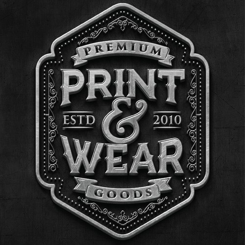 Bold Logo for Print And Wear